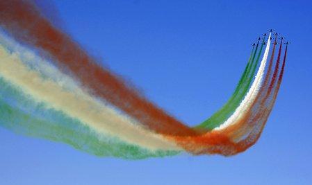 Le Frecce tricolori hanno presentato la formazione per il 2017