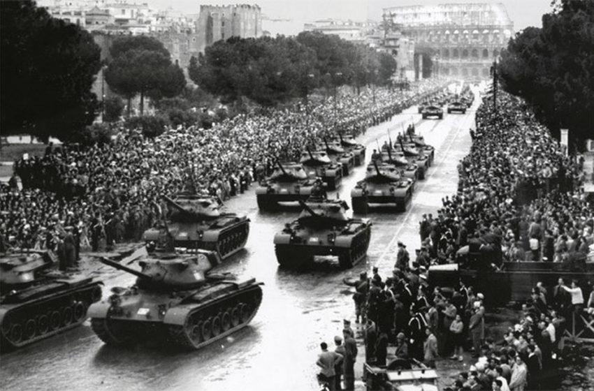 La parata militare del 2 giugno 2020